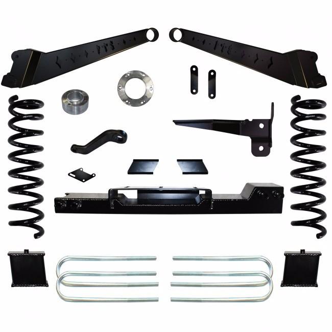 2014 2016 Dodge Ram 3500 4wd 10 Lift Kit W Shocks: Fts 2013 2017 Ram 3500 4wd 6 Basic Kit W Front Coil Springs