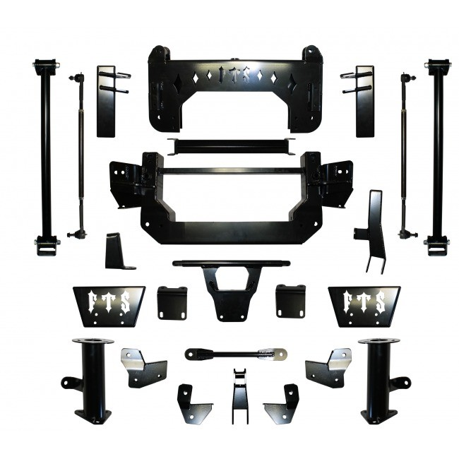 """Full Throttle Suspension FTS 2003-2010 12"""" Hummer H2 / Sut w/   Air Ride"""