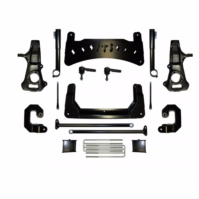"Full Throttle Suspension FTS 2008-2017 10"" Chevy / GMC 1500 2WD Basic Spindle Kit (factory Steel Suspension)"