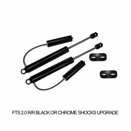 "Full Throttle Suspension FTS 2014-2017 10"" Chevy / GMC 1500 4WD Basic Spindle Kit (factory Aluminum Suspension)"