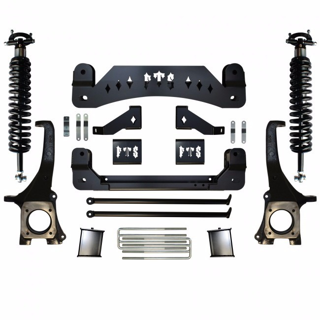 "Full Throttle Suspension FTS 2007-2015 Toyota Tundra 8"" w/   Coilovers"