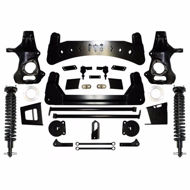 "Full Throttle Suspension FTS 2007-2013 7"" Chevy / GMC 1500 4WD SUV (Non Auto Ride) w/   Coilovers"