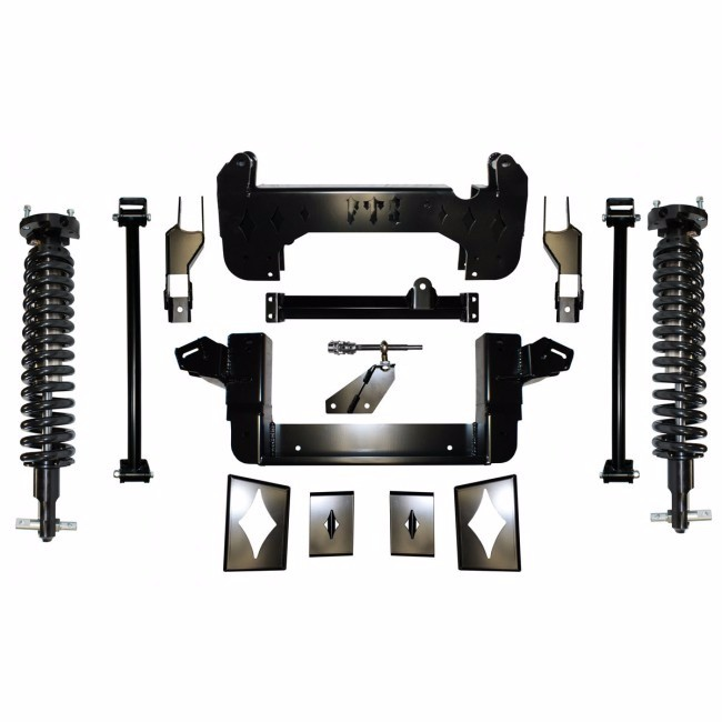 """Full Throttle Suspension FTS 2008-2013 10"""" Chevy / GMC Tahoe / Suburban / Avalanche / Escalade / Denali 4WD w/   Coilovers"""