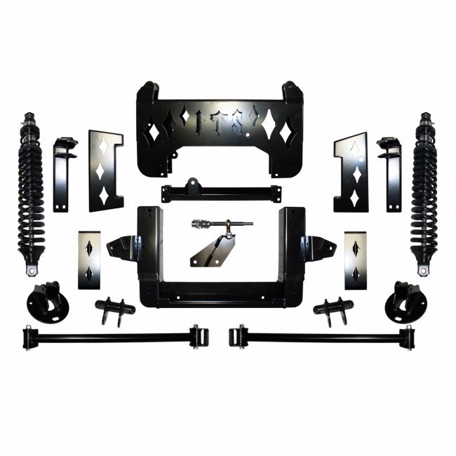 "Full Throttle Suspension FTS 2008-2013 15"" Chevy / GMC Tahoe / Suburban / Avalanche / Escalade / Denali 4WD w/   Coilovers"