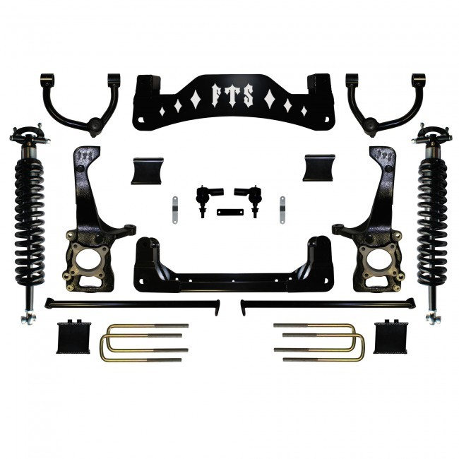 "Full Throttle Suspension FTS 2014 8"" Ford F150 2WD Kit w/   Coilovers"