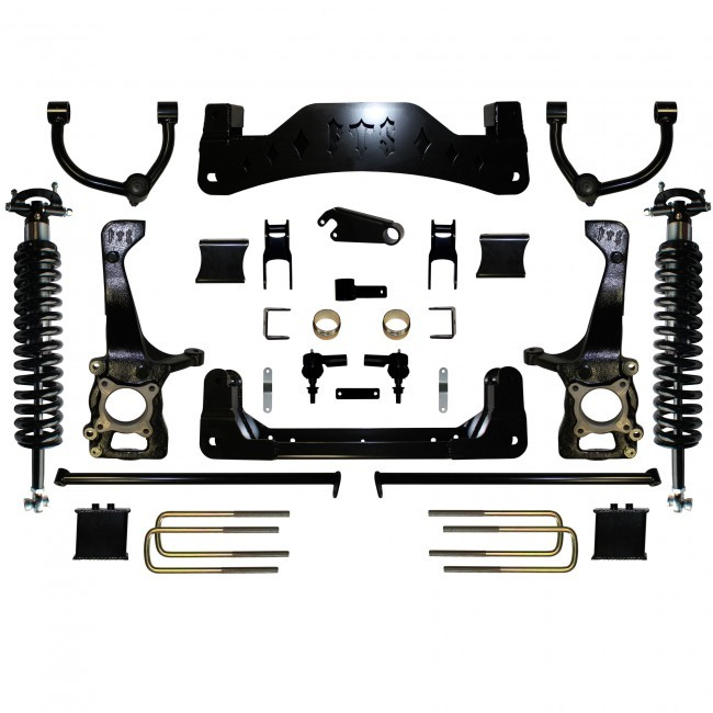 "Full Throttle Suspension FTS 2014 8"" Ford F150 4WD Kit w/   Coilovers"