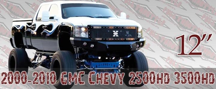 """Full Throttle Suspension FTS 2007-2008 12"""" Chevy / GMC Silverado / Sierra 1500HD / 2500HD / 3500HD 4WD"""