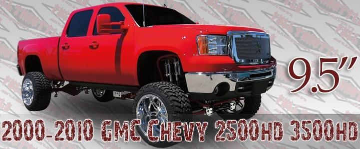 "Full Throttle Suspension FTS 2007-2008 9.5"" Chevy / GMC Silverado / Sierra 1500HD / 2500HD 4WD"