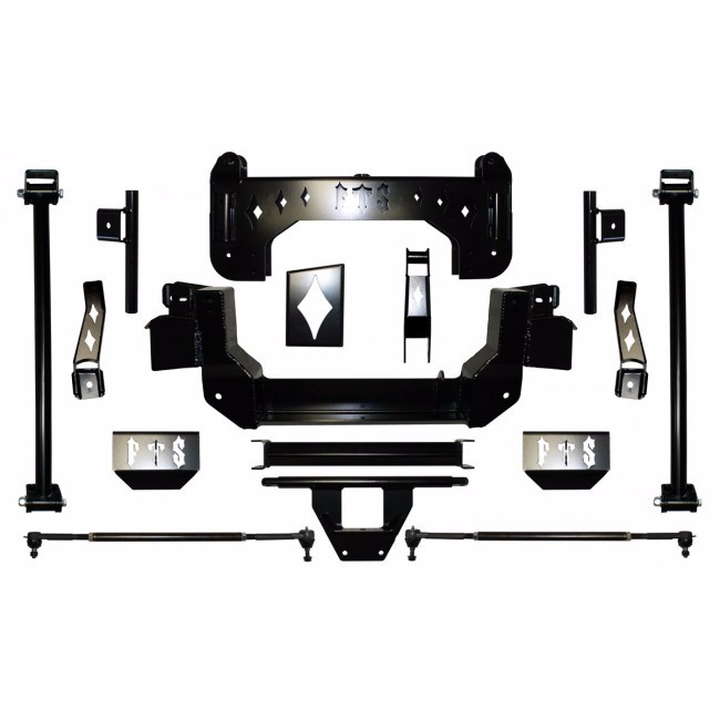 "Full Throttle Suspension FTS 2008-2010 9.5"" Chevy / GMC Silverado / Sierra 1500HD / 2500HD 4WD"