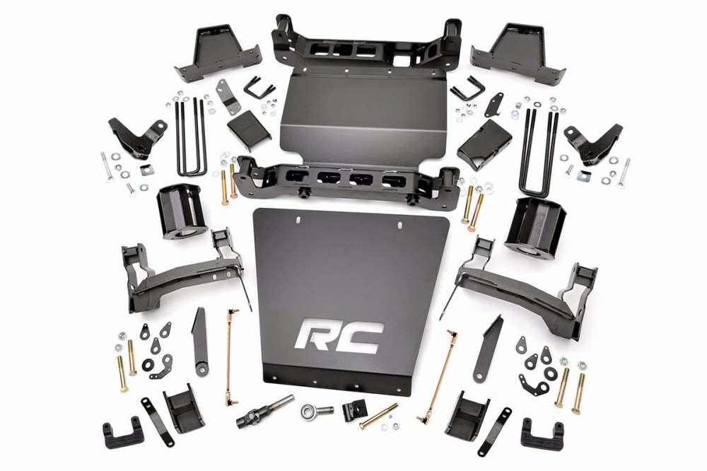 "Rough Country 7"" GM Suspension Lift Kit 
