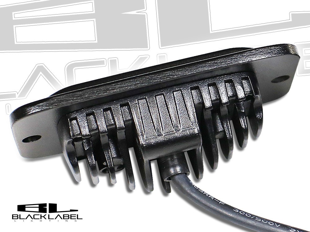 4 inch Black Label Lighting Dual LED Flush Mount Kit (SPOT)