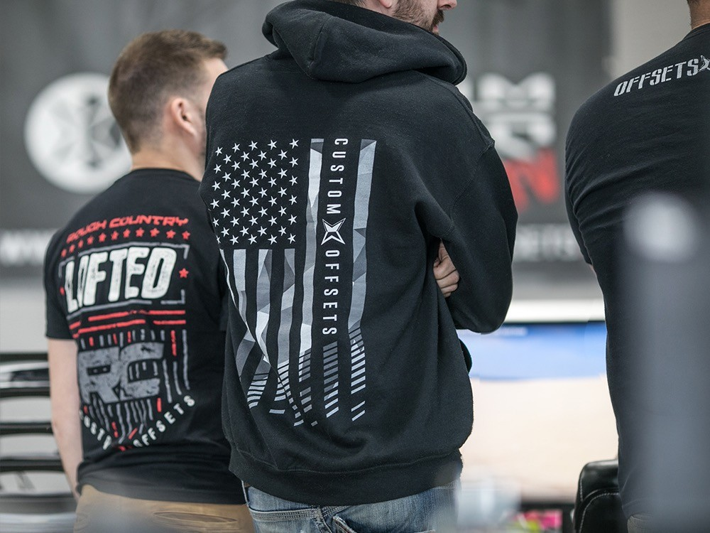 Custom Offsets Flag Hoodie