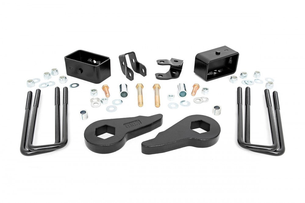Rough Country 1 5 - 2 5IN GM LEVELING LIFT KIT (99-06 1500 PU 4WD)