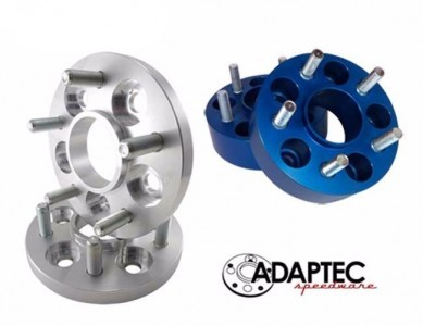 "Aluminum 1.25"" Adaptec (set 4) Adapters 5x4.5 to 5x100"