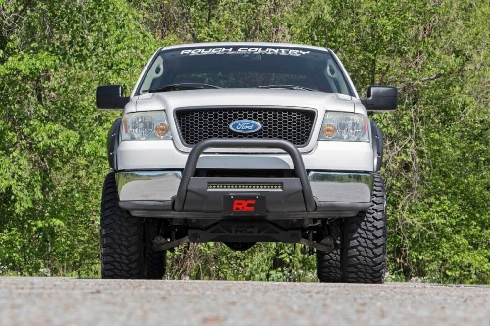 F150 4 Inch Lift >> Rough Country 4in Ford Suspension Lift Kit 04 08 F 150 2wd