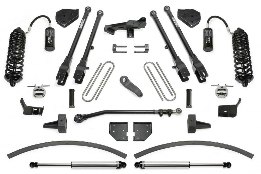 Fabtech 8″ 4 LINK SYSTEM W/ FRONT DIRT LOGIC 4.0 RESI COILOVERS & REAR DIRT LOGIC 2.25 SHOCKS
