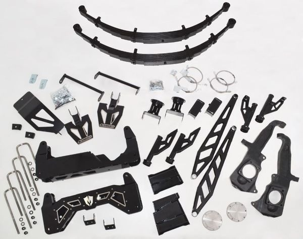 """McGaughys 10"""" RAW Lift Kit for 2011-2018 GM Truck 2500/3500 (2WD/4WD, GAS & DIESEL)"""