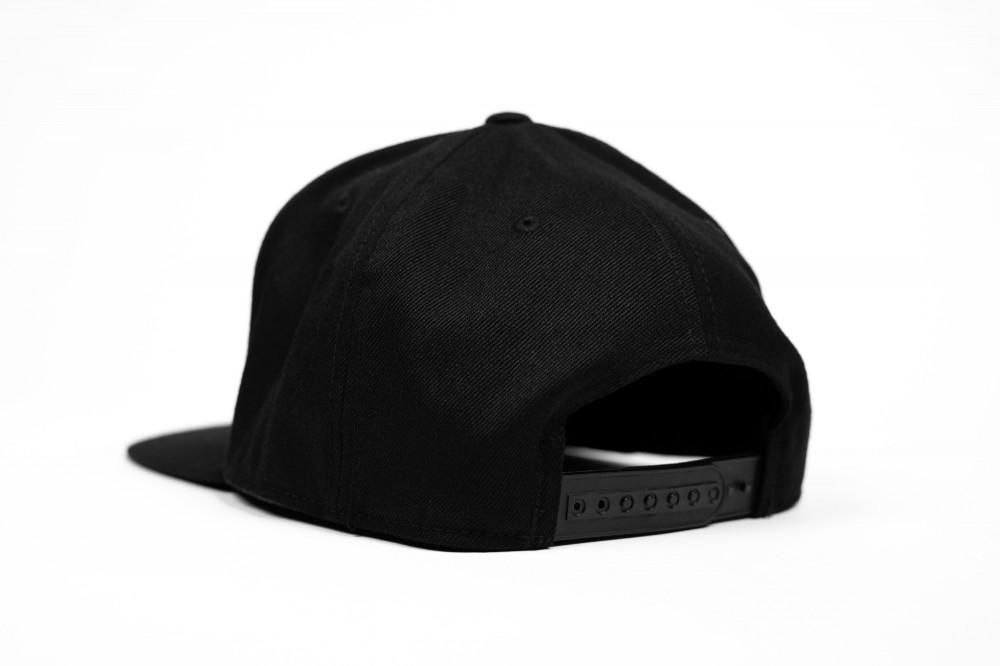 ARKON Black Flexfit Flat Brim Snapback
