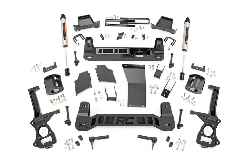 "Rough Country 6"" Chevy Suspension Lift Kit (2019 1500 PU 4WD)"