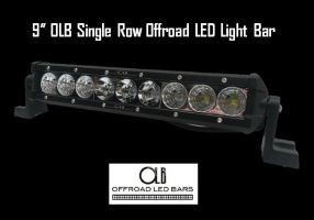 9 inch single row offroad led light bar olb 9 inch single row offroad led light bar olb mozeypictures Choice Image