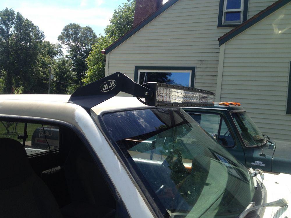 ... 50 Inch Single LED Light Bar Roof Mounts Many Makes U0026 Models ...