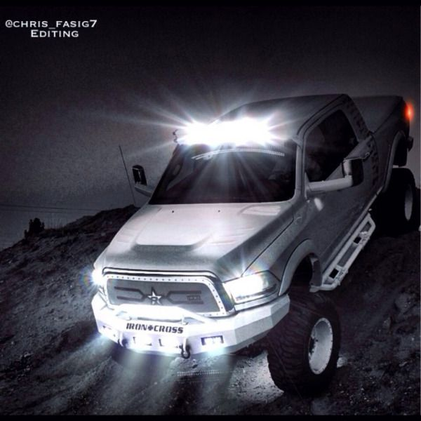 50 Inch Dual Stacked LED Offroad Light Bars   Complete Kit!