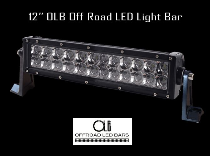 12 inch offroad led light bar olb 89867