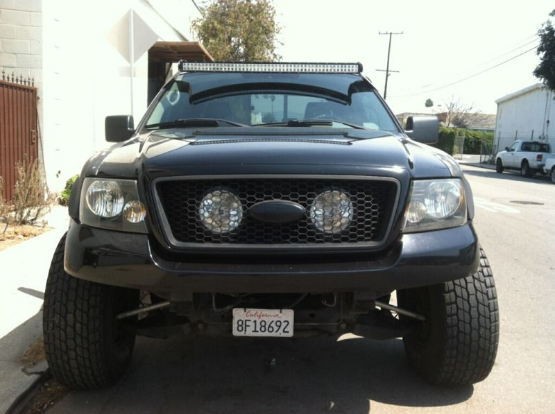 50 Inch Straight Offroad Led Light Bar Complete Setup