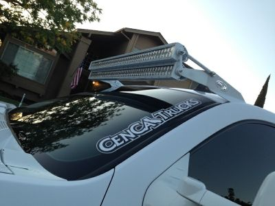 50 Inch Dual Stacked Led Offroad Light Bars Complete Kit