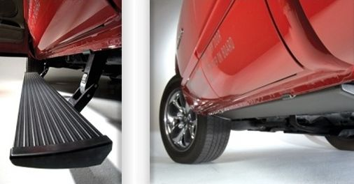 AMP Research Powerstep 2002-2008 Ram Quad Cab 1500, 2003-2009 Ram Quad Cab 2500/3500