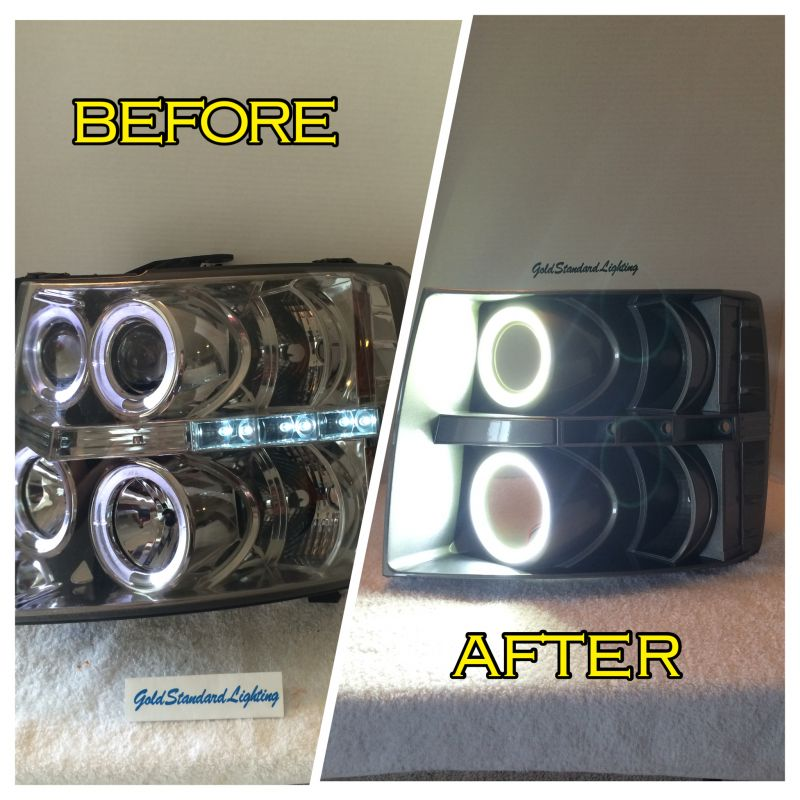 (Headlights) ALL make/model CCFL aftermarket halo replacement package