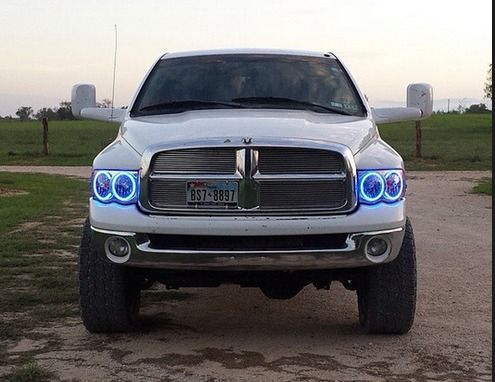 Headlights 2003 2005 Dodge Ram Halo Package
