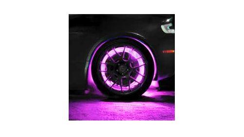ORACLE LED Illuminated Wheel Rings - Pink