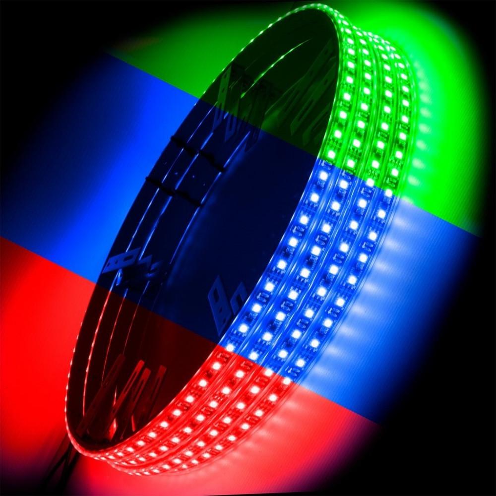 ORACLE LED Illuminated Wheel Rings - ColorShift