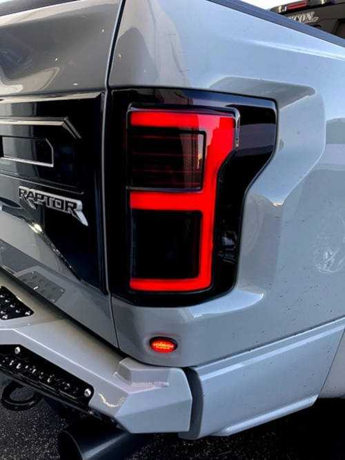 Raptor with Recon Lighting Tail Lights