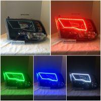 (Headlights) 2009-14 Dodge Ram (Quad) halo install package