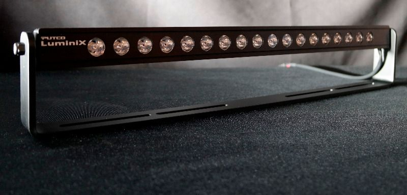 20 Inch Single Row Led Light Bar With Extreme Mounting Bracket