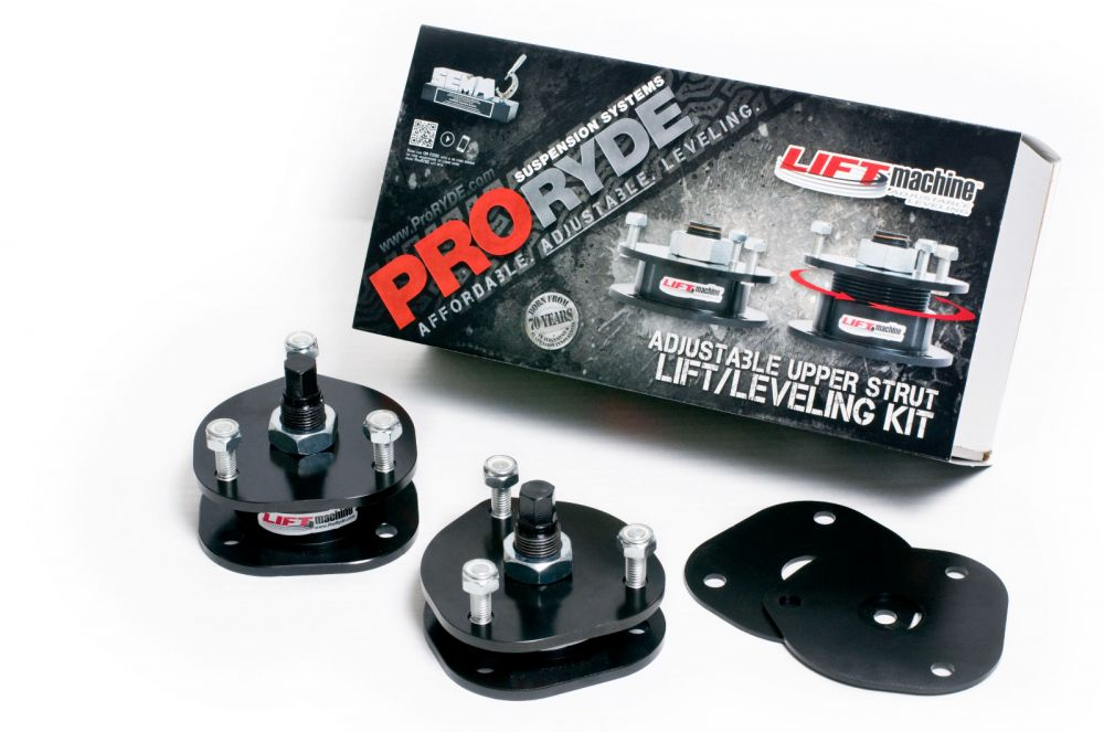 ProRyde Dodge Ram 1500 4x4 Lift Kit 2006-2016 LIFTMachine Adjustable Leveling Kits