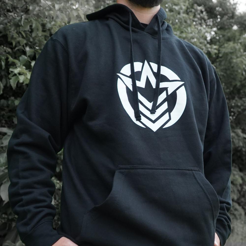 Classic Logo Black Hoodie
