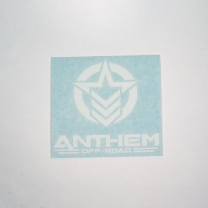 "6"" Vinyl Anthem Vertical Logo"