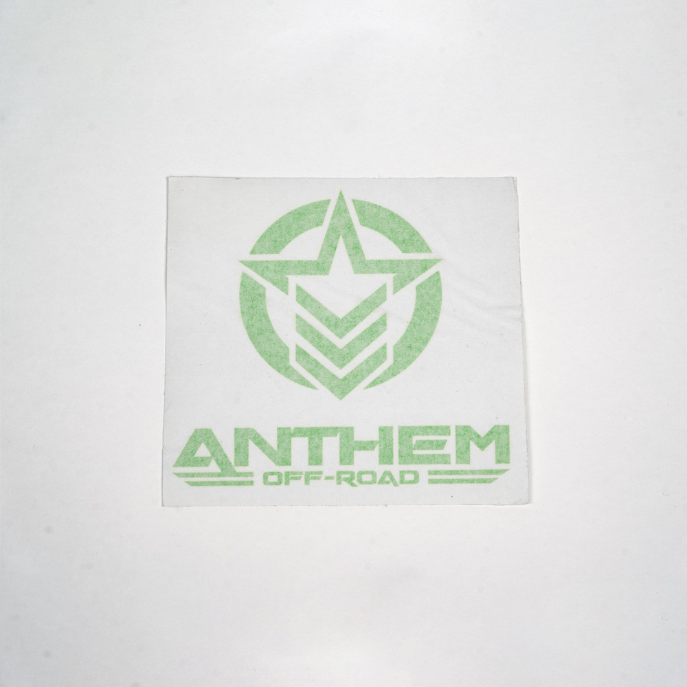 "8"" Vinyl Anthem Vertical Logo"