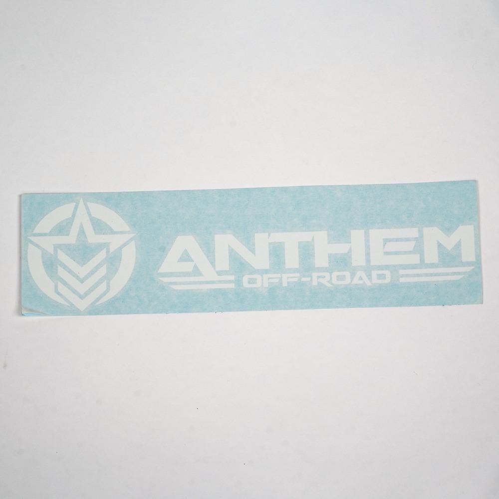 """24"""" Vinyl Anthem Horizontal Logo"""