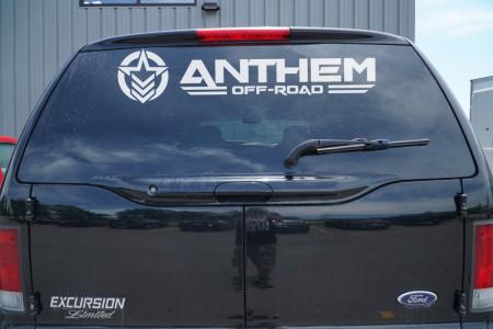 """36"""" Vinyl Anthem Horizontal Logo"""