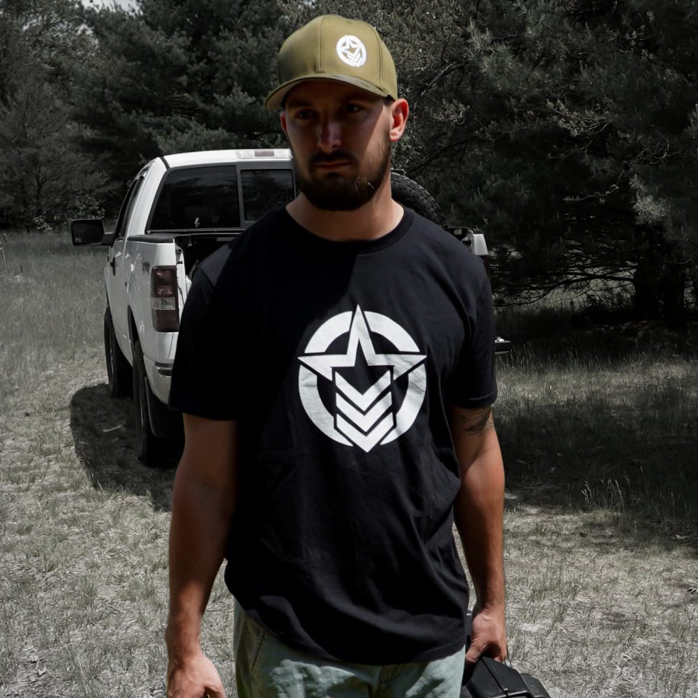 Classic Logo Black Shirt