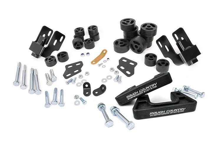 Rough Country 3.25IN GM COMBO LIFT KIT - Aluminum