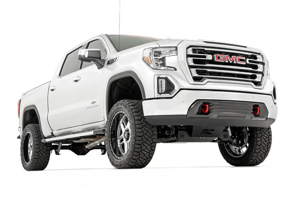 Rough Country 6in Suspension Lift Kit   Strut Spacers (2019 GMC 1500 PU 4WD)