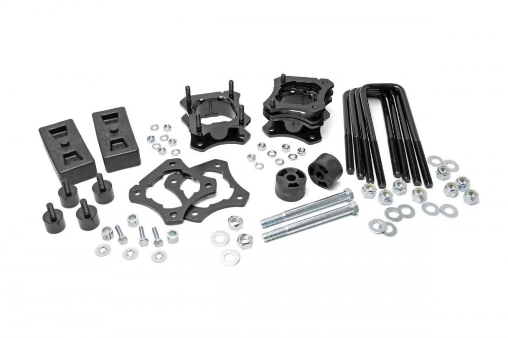 Rough Country 2 5-3IN TOYOTA LEVELING LIFT KIT (07-19 TUNDRA 4WD)