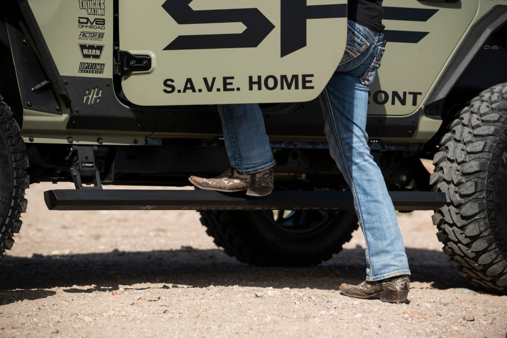 Rbp Rbp 510 Sp Stealth Power Running Boards 18 19 Jeep Wrangler Jl Unlimited 4 Door Custom Offsets