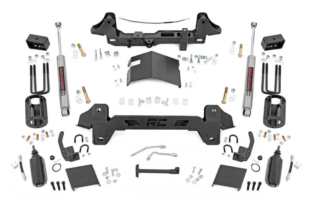 Rough Country 6in Toyota Suspension Lift Kit (95-04 Tacoma 4WD/2WD)