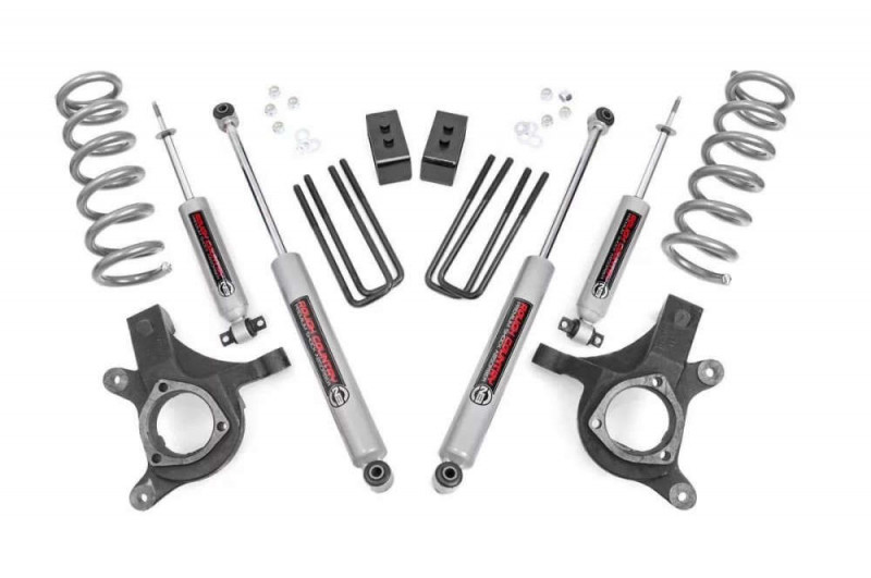 "Rough Country 4.5"" GM Suspension Lift Kit(6 Lug Models 2WD)"